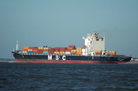 MSC Alyssa IMO 9235050 5th November 2012