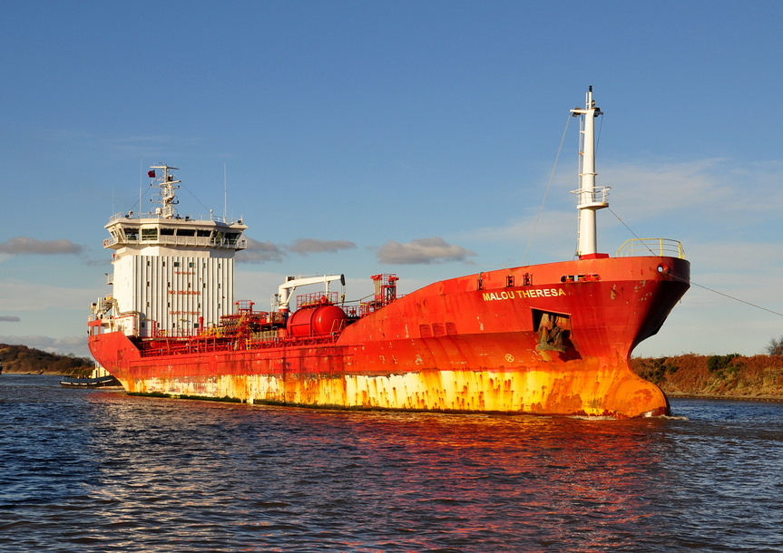 Malou Theresa IMO 9428437 5289gt Built 2008 Chemical/Oil Products Tanker
