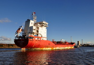 Malou Theresa IMO 9428437 inward for Runcorn