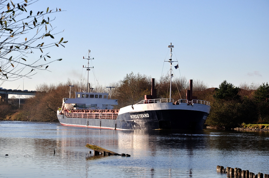 Nordstrand on the Manchester Ship Canal