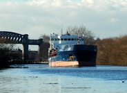 Suna at Latchford Locks transferring from Runcorn to Manchester