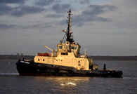 Svitzer Sussex on the Mersey