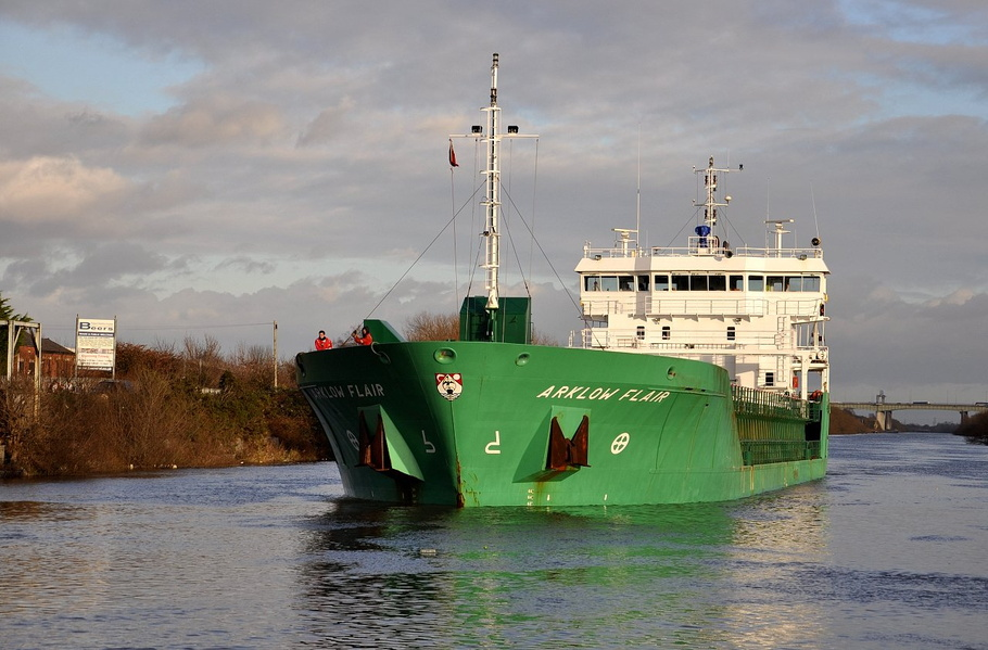Arklow Flair outward from Irwell Park