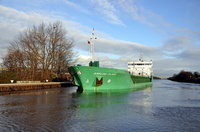 Arklow Flair approaching Latchford outbound