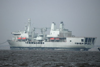 RFA Fort George IMO 8800690 destination Aliaga