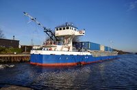 Monica IMO 8810750 ex Itasca General Cargo Ship