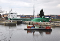 BLM 2 of Bilway Marine & Arklow Fortune at Latchford