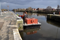 BLM 2 of Bilway Marine at Latchford 22nd February 2013