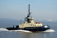 Svitzer Sussex heading for Eastham