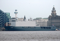 HNLMS Johan De Witt IMO 9280768 28395gt 3rd March 2013