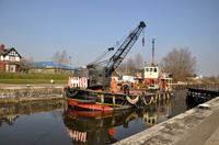 MSC Buffalo at Latchford Locks 5th March 2013