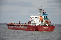 Oraluna IMO 9537094 3953gt Built 2011 Chemical/Oil Tanker