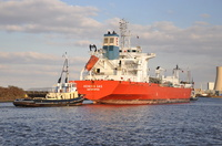 Kemira Gas passing Ellesmere Port
