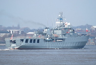 ORP Czernicki (511) departing for Joint Warrior Exercise