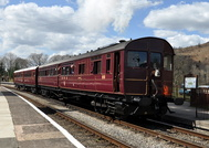 Steam Railcoach No93 and Auto Trailer No 92 20th April 2013