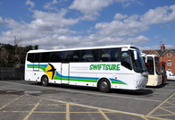 Swiftsure Coaches at Llangollen
