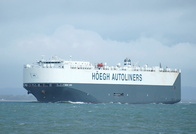Hoegh Kobe IMO 9330616 59705gt Built 2006 Car Carrier