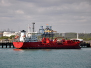 Silver Freya IMO 9427445 5424gt Built 2011 alongside Fawley