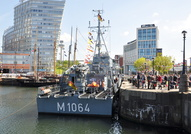 FGS Gromitz M1064 at Canning Dock