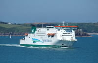 Isle of Inishmore arriving for Pembroke