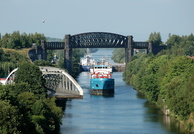 General Cargo Ship Cito after departing Latchford 7th July 2013
