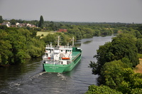 Arklow Rover inward for Manchester 18th July 2013