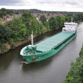 Arklow Flair  late evening arrival for Manchester 11th August 2013