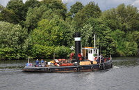 ST Kerne on the Manchester Ship Canal 15th August 2013