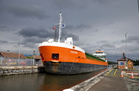 Calypso at Latchford Locks 17th August 2013
