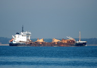 Sand Harrier IMO 8900713 3751gt Built 1990 Hopper Dredger