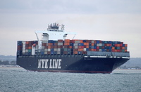 NYK Adonis IMO 9468293 105644gt Built 2010 Container Ship