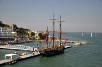 Earl of Pembroke at Cowes