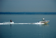 Water Skiing off Cowes