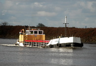 Loach heading for Runcorn 4th November 2013