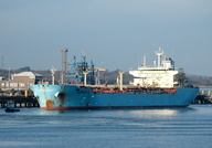 Maersk Kalea IMO 9256298 25507gt Built 2004 Esso Berth No 2 Fawley