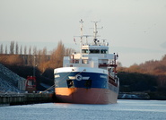 Carolin G IMO 9462500 2545gt Built 2008 at Ellesmere Port