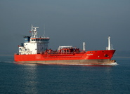 Venere sailing from Fawley 13th March 2014