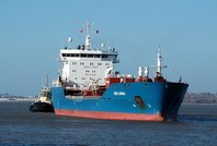 Bro Anna arriving for Eastham QE2 7th March 2014