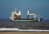 Nomadic Hjellestad arriving Liverpool 7th March 2014