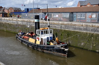 Steam Tug Kerne at Latchford 26th April 2014