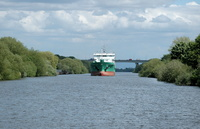 Arklow Flair passing Thelwall 6th May 2014