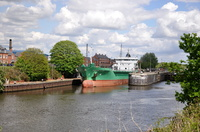Arklow Flair departing Latchford 6th May 2014