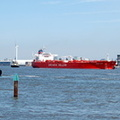 Aegean Faith passing Seacombe 17th May 2014