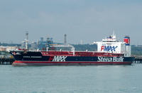 Stena President alongside Fawley Esso Berth 4