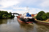 Alsterdiep sailing for Drogheda 26th July 2014