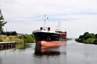 Alsterdiep on the Manchester Ship Canal 26th July 2014