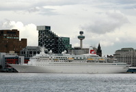 Boudicca at Liverpool Cruise Terminal