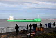 Eastham Ship Spotters for Arklows new build maiden visit