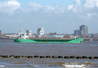 Arklow Rebel inward for Birkenhead 10th March 2015