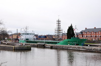 Arklow Rogue at Latchford Locks 2nd April 2015